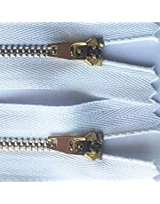 Zkenshan-Zippers 3# 10pcs 8m 10cm 11cm 12cm 13cm 15cm 18cm Sewing Metal Zippers Auto Lock Black Zip for Jeans Footwear Denim Skirt, Practical and Durable