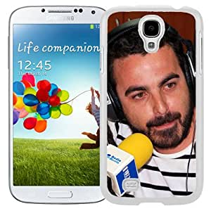 Beautiful Designed Cover Case With Huecco Microphone Headphones Beard Look (2) For Samsung Galaxy S4 I9500 i337 M919 i545 r970 l720 Phone Case