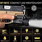 DefendTek Gun Flashlight Compact Tactical LED