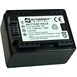 Canon VIXIA HF R500 Camcorder Battery Ultra High Capacity (Li-Ion 2000mAh 3.7V) - Replacement for the Canon BP-718 Camera Battery - Fully Decoded