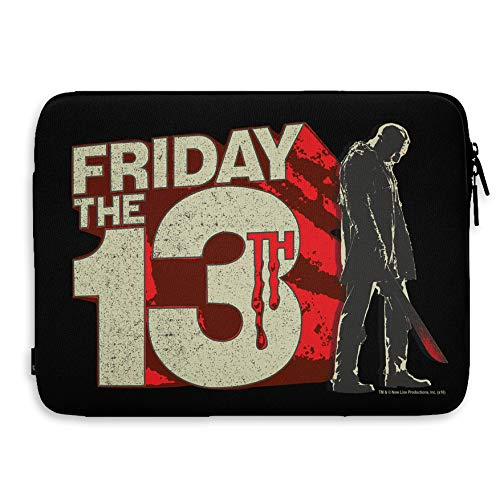 Friday The 13th Officially Licensed Block Logo Laptop