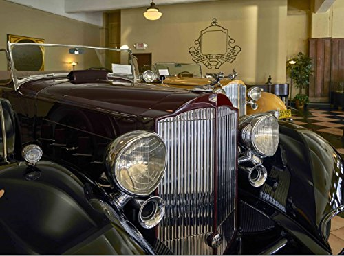 Photograph| A classic automobile at America's Packard Museum, an automotive museum located in the former Citizens Motorcar Company 1 Fine Art Photo Reproduction 44in x ()