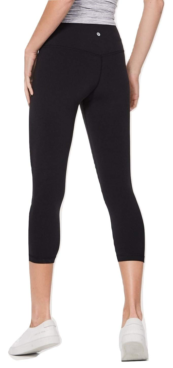 7d4f6269c114ae Lululemon Wunder Under Yoga Pants Stirrups Dramatic Static Black Grey (6),  Pants - Amazon Canada