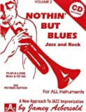 Nothin' But Blues: Jazz And Rock, Vol. 2 (Book & CD Set)