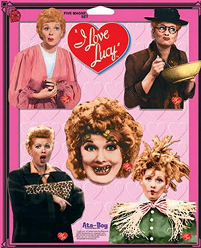 - I Love Lucy 5 Piece Magnet Set 18212FP