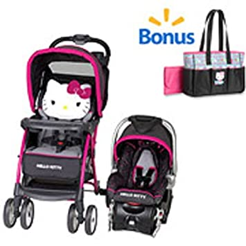 Baby Gear Bundle W Stroller Travel System Infant Car Seat And Diaper Bag