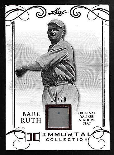 2017 Babe Ruth Immortal Collection Red Spectrum #YS41 Yankee Stadium Seat #13/20