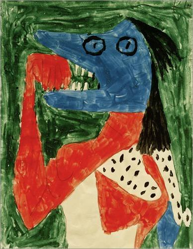 Image result for the hungry girl paul klee