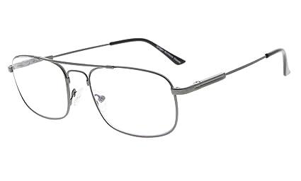 4398135ef6 Eyekepper 3 niveles visión multienfoque gafas de lectura protección UV  lectores progresistas hombres mujeres flexible marco