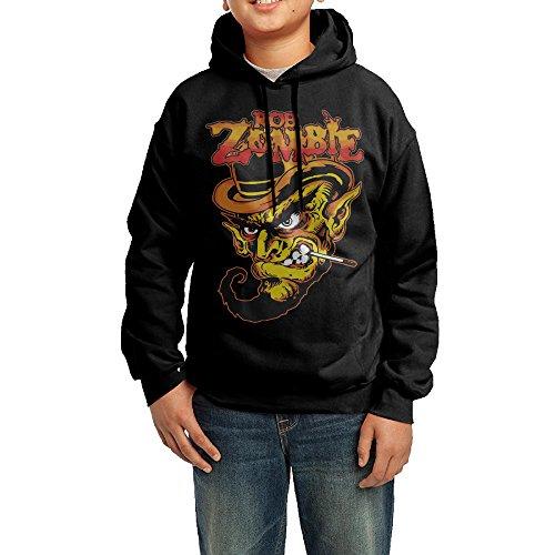 NVVW Classic Zombie Logo Boys&girls Pullover Sweatshirts Jacket M ()
