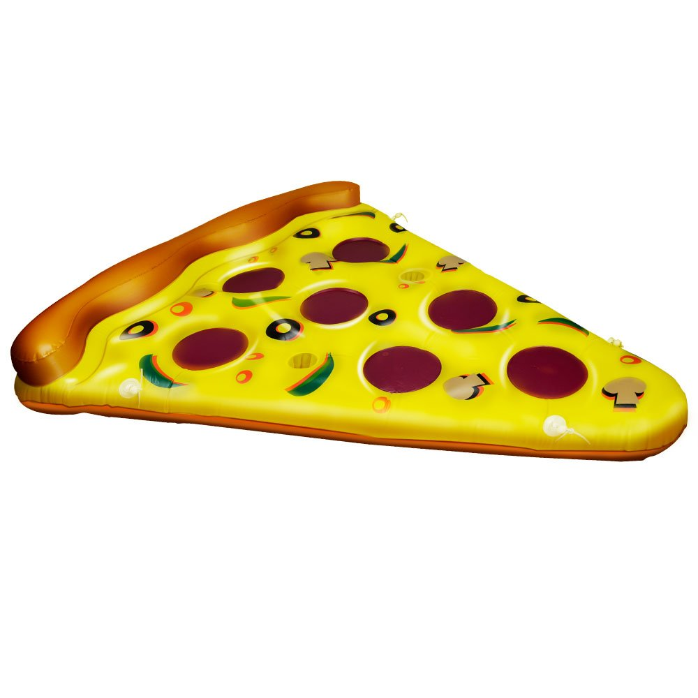 CestMall Pizza de PVC Float 71in Pizza gigante Slice Pool ...