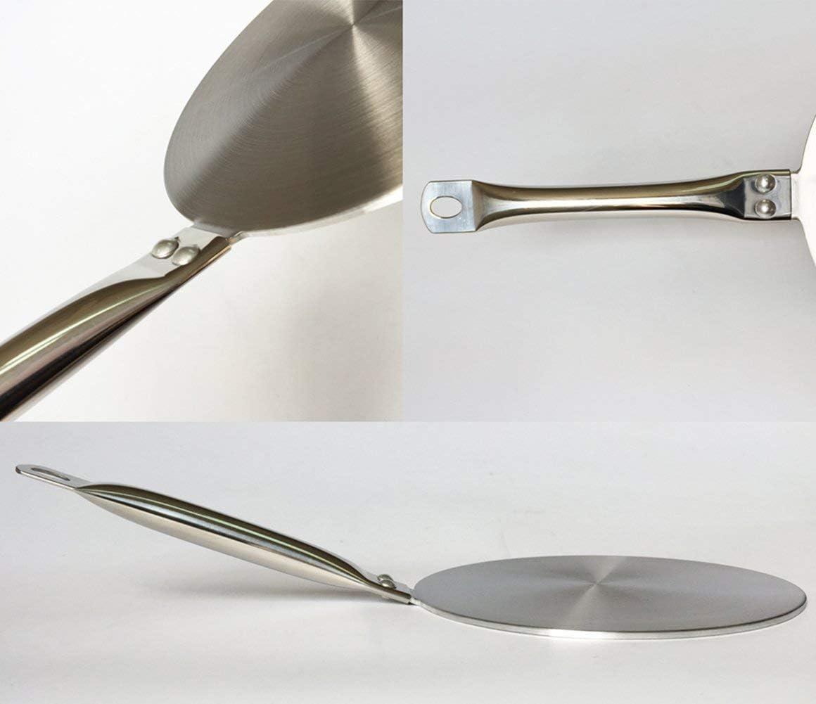 Plaques de cuisson /à induction Flame Guard 7,5 pouces RAINBEAN Diffuseur de chaleur Plaque dadaptation /à induction pour convertisseur de table de cuisson en verre avec cuisini/ère /à gaz
