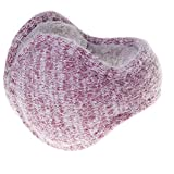 Ear Warmers Rabbit Hair Winter Ear Muffs Foldable Outdoor Earmuffs Unisex for Men & Women by Lacoss (pink)