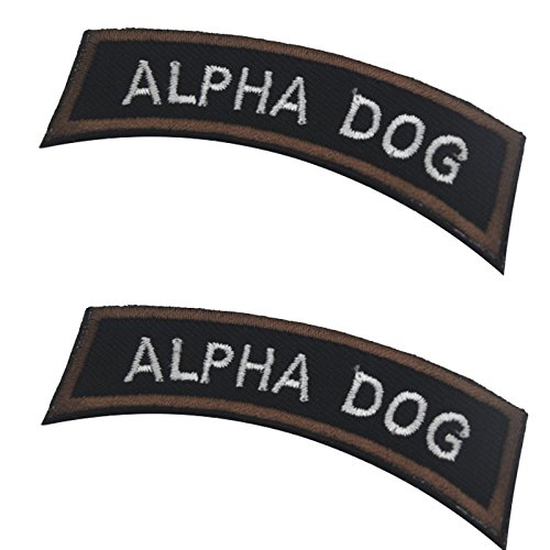 - Alpha Dog Tab Type a Army USA Tactical Morale Military ISAF Multicam Badge Patch 2.76
