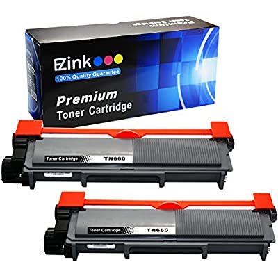 E-Z Ink (TM) Compatible Toner Cartridge Replacement for Brother TN630 TN660 High Yield (2 Black) Works With HL-L2320D HL-L2380DW HL-L2340DW MFC-L2700DW MFC-L2720DW MFC-L2740DW MFC-L2707DW Printer