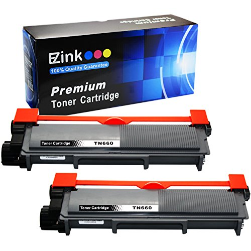 E-Z Ink (TM) Compatible Toner Cartridge Replacement for Brother TN660 TN-660 TN630 TN-630 High Yield (2 Black) For HL-L2320D HL-L2380DW HL-L2340DW MFC-L2700DW MFC-L2720DW MFC-L2740DW MFC-L2707DW Compatible Black Drum Cartridge