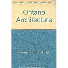 Ontario Architecture