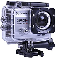 TecTecTec Action Camera Ultra HD XPRO2+ WiFi Waterproof Sport Cam - Silver