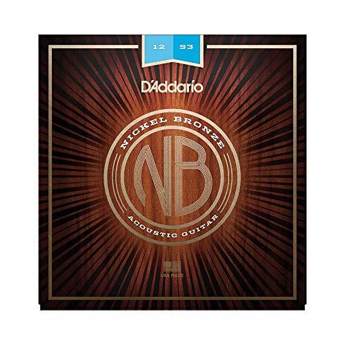 DAddario NB1152 cuerdas guitarra acúst. de bronce de nikel.