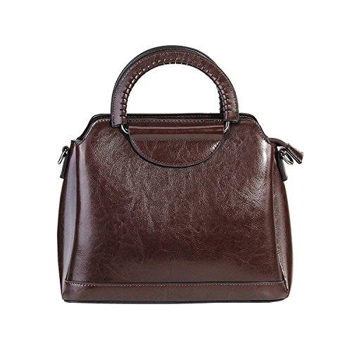 Sac 8958 à fashion LF Valin en portés bandoulière main cuir épaule Café Sac femme Sac portés main Sac RU4wzw