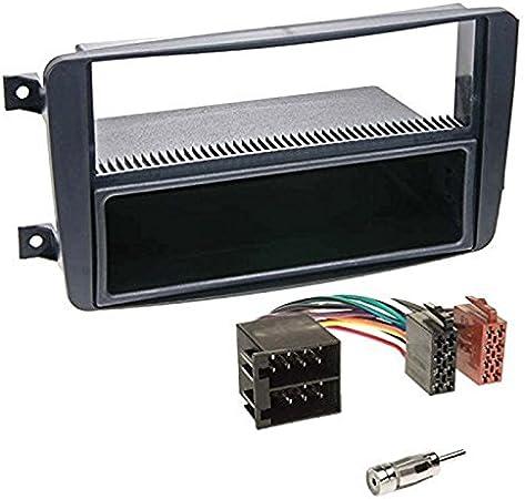 adaptador ISO diafragma negro Mercedes Viano Vito Caliber rmd021 radio C-KL