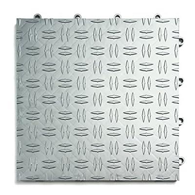 GarageTrac Garage Flooring Tiles-Pack of 24, Multiple Colors