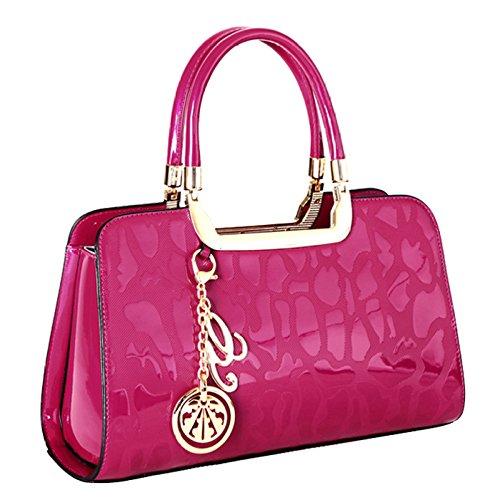 Sac Gamme à De Voyage Haut Main De Haut Dames à Classique De Gamme Sacs Travail De Dames De Pink De Mode De Main rdrwy4KSqI