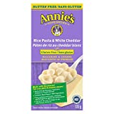 Annie's Homegrown Gluten Free Rice Pasta & White Cheddar Macaroni & Cheese, 170 Gram