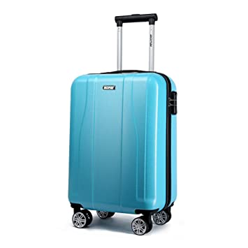 Maletín trolley Equipaje de mano 24 pulgadas Maleta con ruedas 4 ruedas viaje de negocios viaje ...