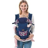 ThreeH Portabebés desmontable del asiento del bebé 4 llevar las posiciones para todas las estaciones BC09