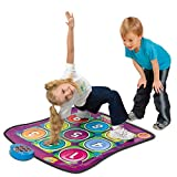 QXMEI Dancing Blanket Children's Blanket Music Blanket Family Game Gift Dance Blanket Infant Children Early Childhood Parent-Child Toy Product Size: 35.8inchs 35inchs
