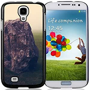 Unique and Fashionable Cell Phone Case Design with Grass Field Brown RockSamsung Galaxy Note2 N7100/N7102 Wallpaper