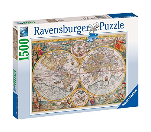- Ravensburger Historical Map - 1500 Piece Puzzle