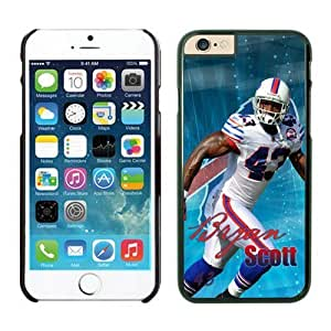 NFL Buffalo Bills Bryan Scott iPhone 6 Cases Black 4.7 Inches NFLIphoneCases13329 by kobestar