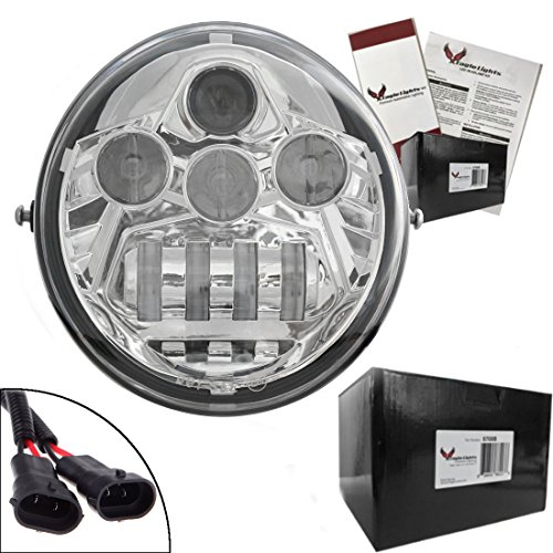 Eagle Lights V-Rod LED Projection Headlight for Harley for sale  Delivered anywhere in USA