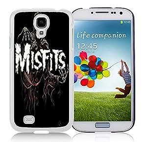 New Unique DIY Antiskid Skin Case For Samsung S4 misfits (2) Samsung Galaxy S4 White Phone Case 290