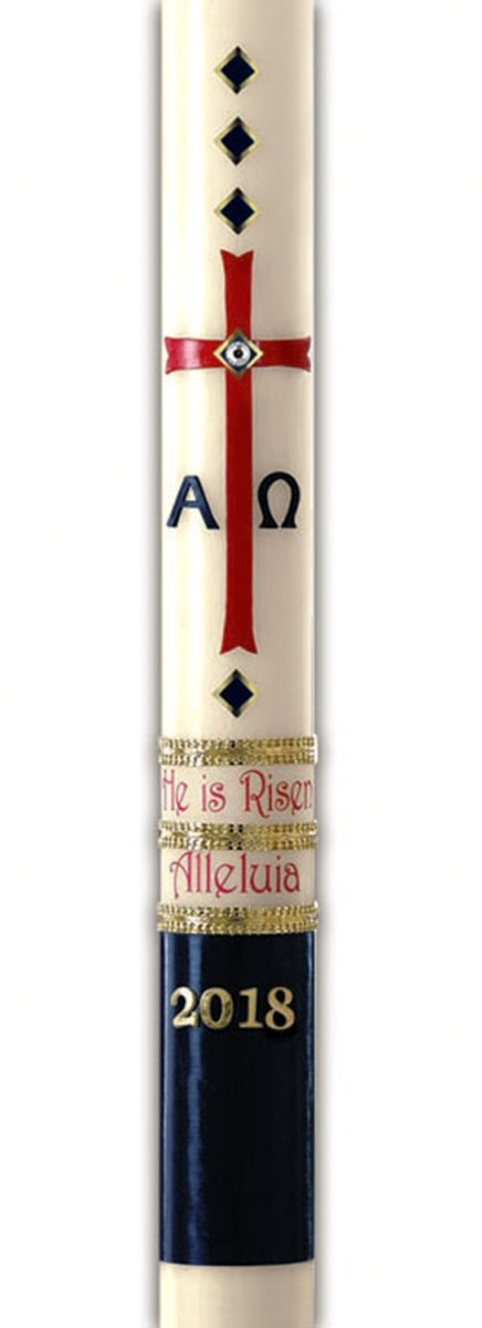 CBCS 11555 No. 15 Exalted Paschal Candle