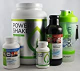 Purium Core 4 Nutrition Kit - Unflavored Power Shake w/ Shaker Bottle