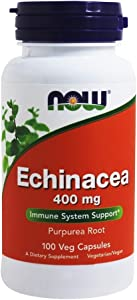 NOW FOODS Now ECHINACEA RT, 100 Count