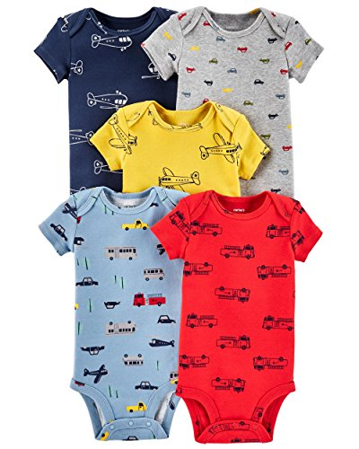 Carter's Baby Boys' Multi-Pk Bodysuits 126g333