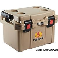 Pelican PEL-32-20Q-OC-TAN  20 Qt Elite Cooler, Tan