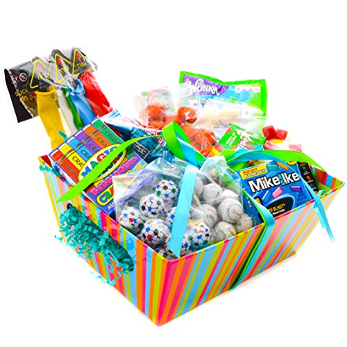 Milliard Happy Birthday Basket - Color Me Happy Theme