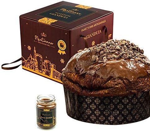 Panettone artigianale gianduia con gocce di cioccolato 1.2 chilogrammi marturano B08JCRVWSF