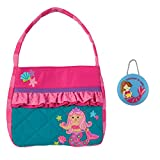 Stephen Joseph Girls Quilted Mermaid Purse and Coin Holder