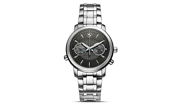 BMW Mujer Reloj De Pulsera Plata Negro reloj 35 mm Original BMW Nuevo 80262365449: Amazon.es: Relojes