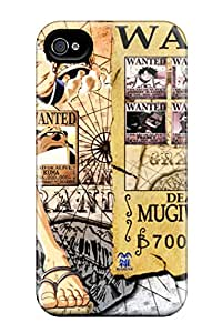 New PTZthkj3154ufUlw One Piece Wanted Skin Case Cover Shatterproof Case For Iphone 4/4s