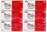 ACCO Ideal Paper Clamp/Butterfly Clamp, Smooth, 2 Size(Small), 50/Box, 3-Pack (150 Clamps Total) (A7072643) (6-(Pack))