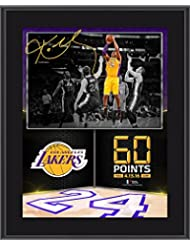 "Kobe Bryant Los Angeles Lakers 10.5"" x 13"" 60 Point Finale Sublimated Plaque - NBA Team Plaques and Collages"