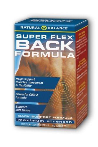 Natural Balance Super Flex Back Formula, 60-Count
