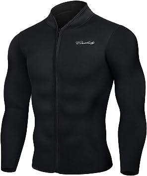 Amazon.com: CtriLady - Camiseta de neopreno para hombre, con ...